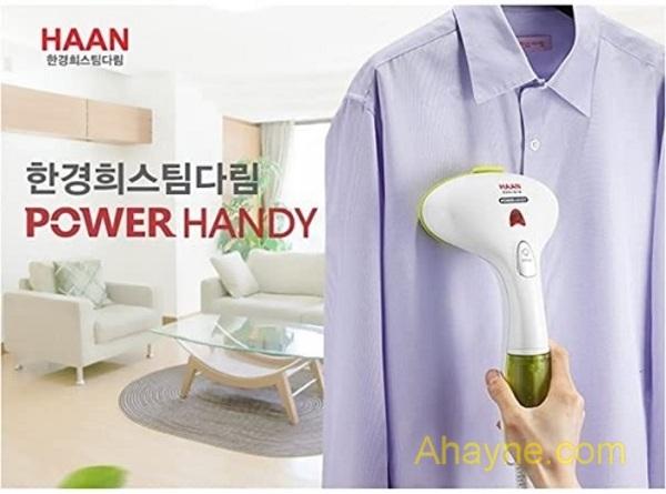 bàn ủi hơi nước cầm tay haan power handy steam iron hi-400 với công suất 1400w
