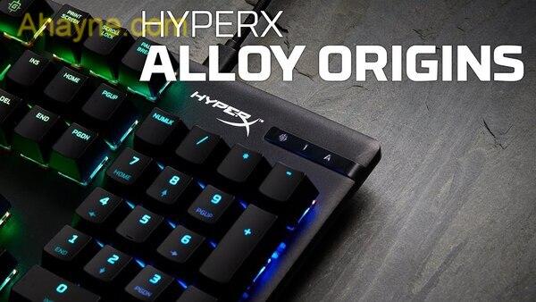 bàn phím hyperx alloy origins