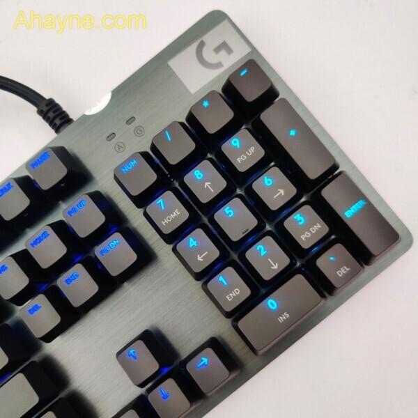 bàn phím logitech g512 rgb gx blue clicky