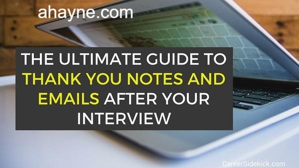 cách viết email cảm ơn sau khi phỏng vấn bằng tiếng anh