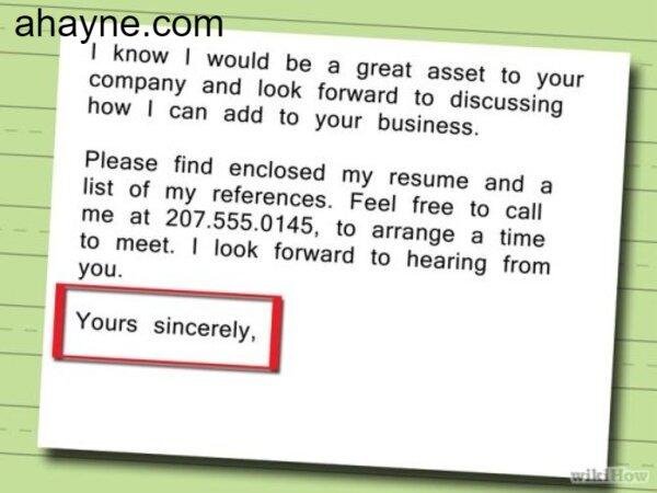 cách viết email xin việc bằng tiếng anh