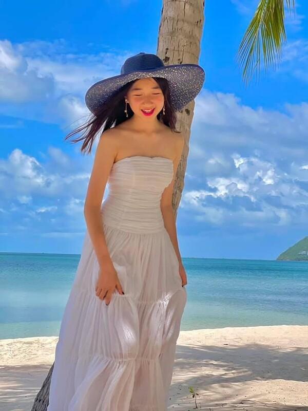 hoa hậu việt nam 2004 bất ngờ hé lộ hình ảnh cô con gái khánh linh cực kỳ cute - nguồn ảnh: internet