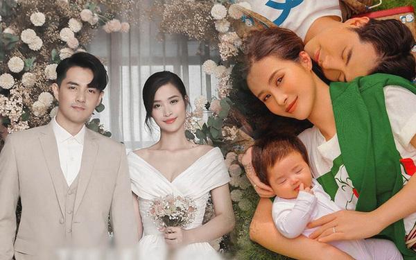 Đông nhi hiện có cuộc sống hạnh phúc bên gia đình nhỏ tuổi - nguồn ảnh: internet