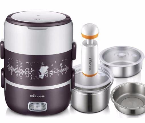 Hộp cơm cắm điện loại nào tốt giữa Chefman, Komasu và Magic Korea?
