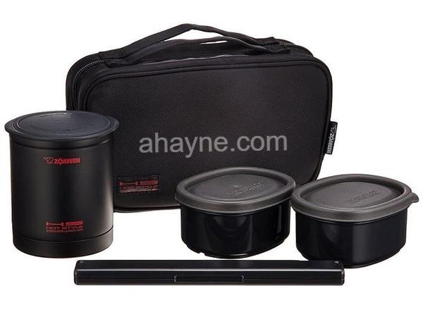 hộp cơm giữ nhiệt zojirushi zocm-sz-ka02-be – 3 ngăn (660ml)