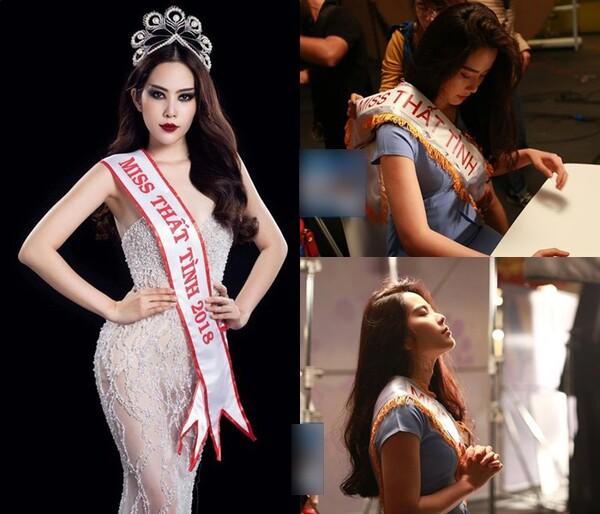 cô cũng từng tham gia cuộc thi hoa hậu việt nam 2014 – nguồn ảnh: internet