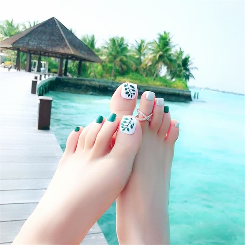 1000+ mẫu nail chân hot siêu đẹp được nhiều chị em lựa chọn