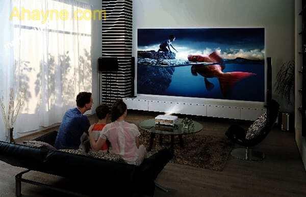 dòng máy chiếu gia đình mang tới trải nghiệm mới thông minh