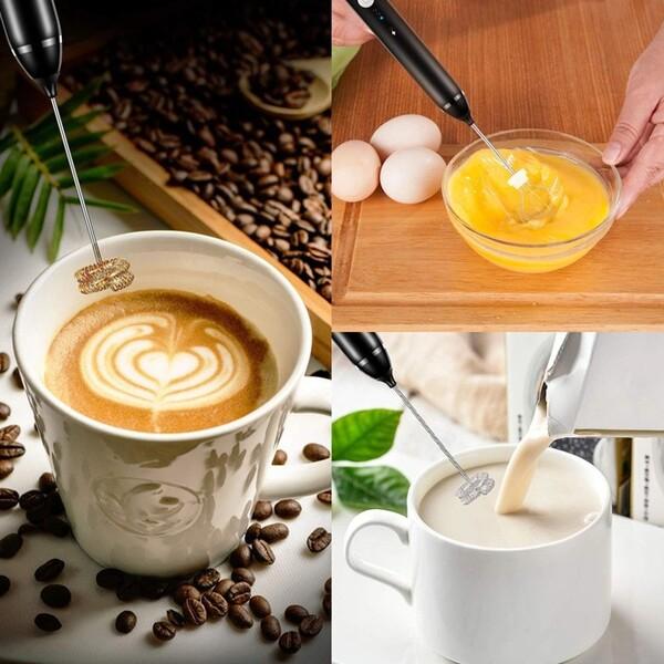 máy tạo bọt cafe, sữa, đánh trứng mini cầm tay