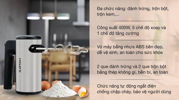 máy Đánh trứng hafele hh-b400a