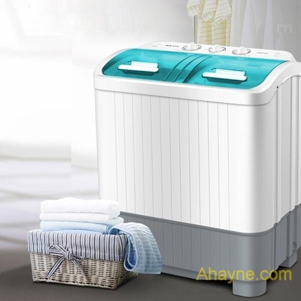 máy giặt mini aux 2 lồng giặt