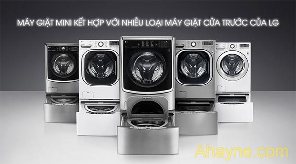 máy giặt mini thường có thiết kế nhỏ gọn, khối lượng nhẹ dễ dàng di chuyển