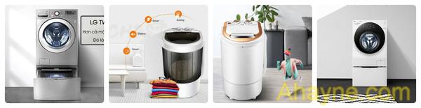 có mấy loại máy giặt mini bây chừ