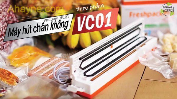 máy hút chân không thực phẩm gia Đình vc01