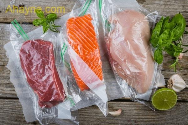 thực phẩm được hút chân không có thời gian bảo quản lâu hơn.