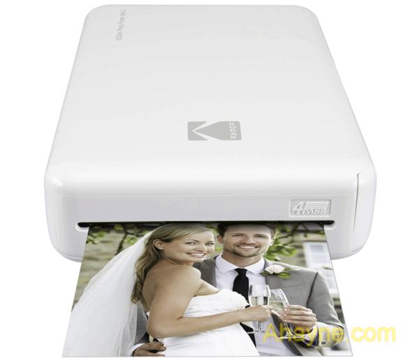 các kodak mini 2 là một máy in ảnh cầm tay có thể sạc lại,
