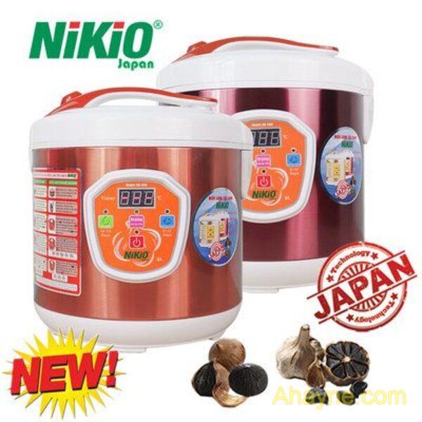máy làm tỏi đen tùy chỉnh nhật bạn dạng nikio nk-686