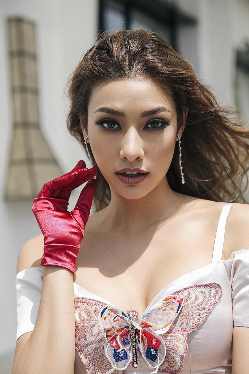 người mẫu lilly nguyễn - người mẫu xinh tươi của the face việt - nguồn ảnh: internet