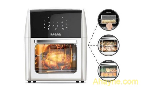 nồi nướng không dầu 2good vortex s-15 air fryer oven