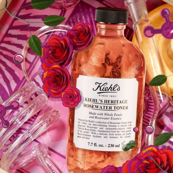 [review] Đặt lên bàn cân các loại nước hoa hồng của kiehl's - nguồn ảnh: internet
