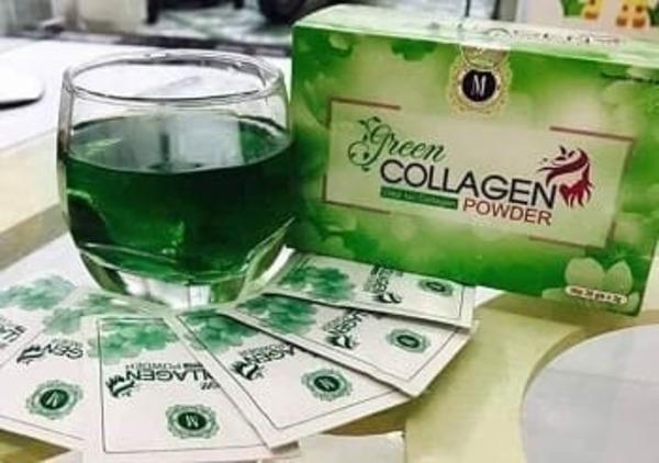 [review] diệp lục collagen có tốt không? có nên dùng không? - nguồn ảnh: internet