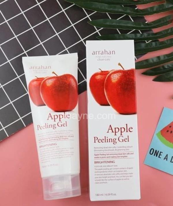 kem tẩy da chết arrahan apple peeling gel