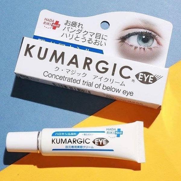 [review] kem trị thâm mắt kumargic eye cream: thâm quầng mắt không còn là nỗi lo gì - nguồn ảnh: internet