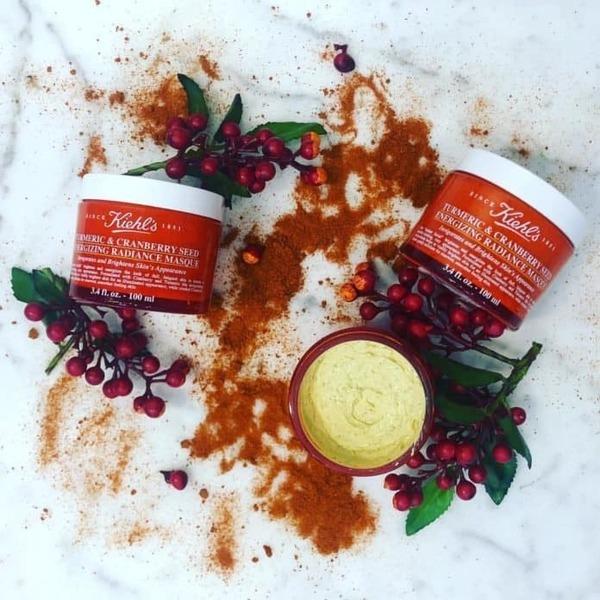 [review] mặt nạ nghệ kiehls turmeric & cranberry seed sợ hãinergizing radiance masque - nguồn ảnh: internet
