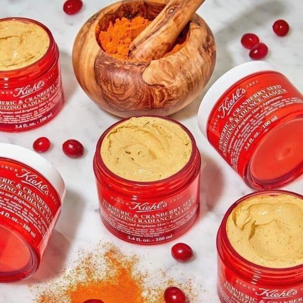 [review] mặt nạ nghệ kiehls turmeric & cranberry seed          sợnergizing radiance masque - nguồn ảnh: internet