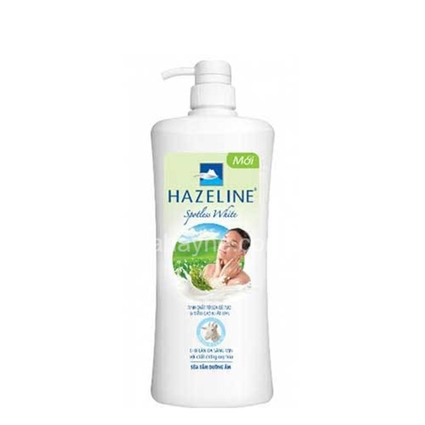 [review] sữa tắm hazeline làm trắng da hiệu quả không?