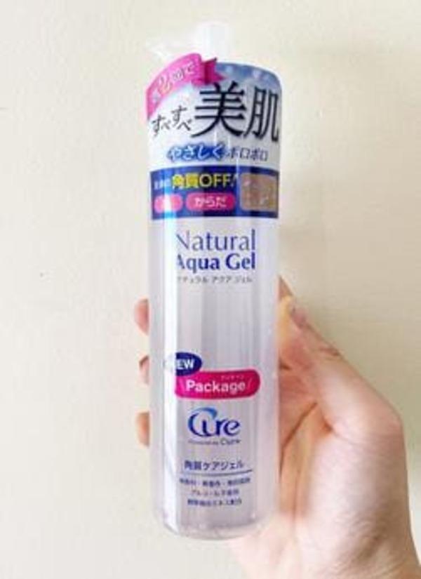 [review] tẩy da chết cure natural aqua gel có thần thánh như lời đồn? - nguồn ảnh: internet