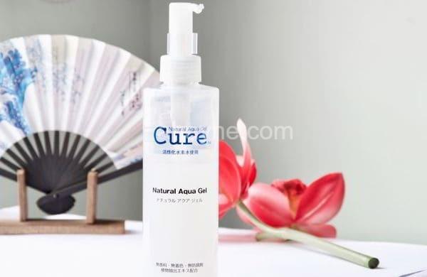 review] tẩy da chết cure natural aqua gel nhật: có tốt không, có Đáng sử dụng?