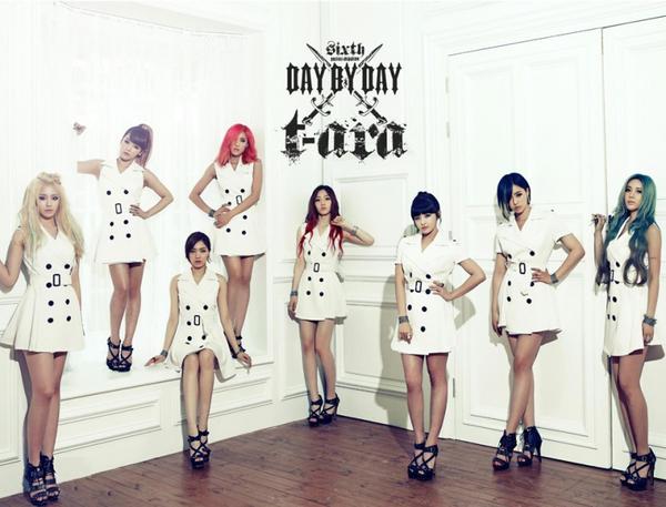 nhóm đã bổ sung thêm hai thành viên là hwayoung vào tháng 7 năm 2010 và areum vào tháng 6 năm 2012 - nguồn ảnh: internet