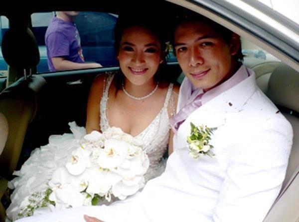 năm 2008, bình minh kết hôn với anh thơ - nguồn ảnh: internet