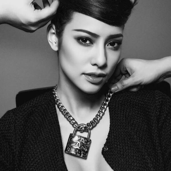 người mẫu lilly nguyễn được những thương hiệu đã chọn mặt gửi vàng - nguồn ảnh: internet
