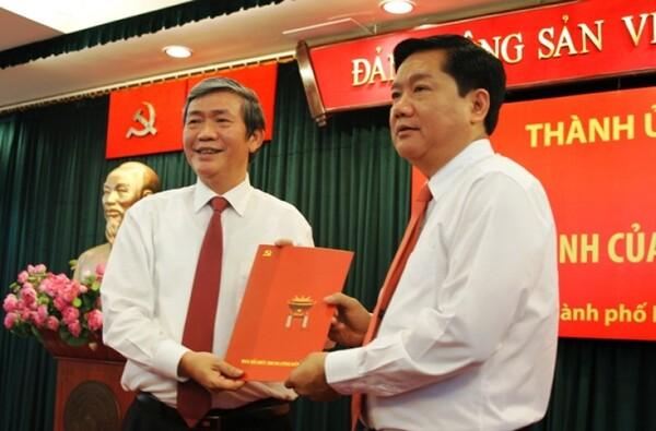 Ông Đinh la thăng giữ chức vụ phó bí thư tỉnh ủy thừa thiên – huế và đại biểu quốc hội khóa xi, Ủy viên ban Đối ngoại của quốc hội - nguồn ảnh: internet