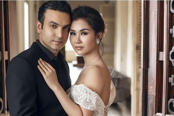 võ hạ trâm có gia đình hạnh phúc cùng người chồng Ấn Độ - nguồn ảnh: internet