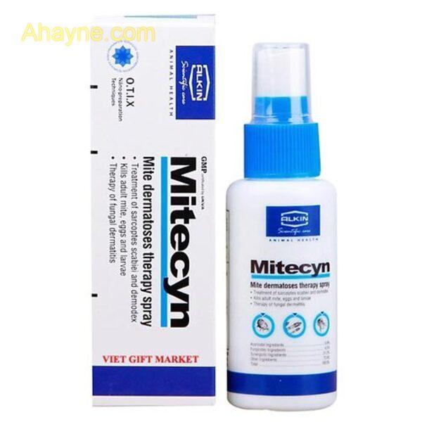 thuốc trị ghẻ, nấm, viêm da, dị ứng mitecyn alkin