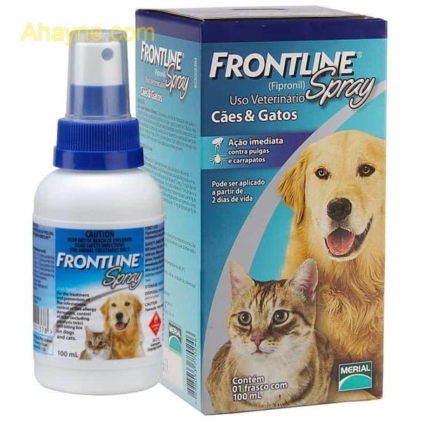 thuốc xịt ve chó, bọ chét frontline 100ml