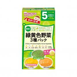 bột ăn dặm 3 vị rau wakodo 8 gói (cho bé từ 5 tháng)