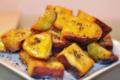 Nướng khoai lang bằng nồi chiên không dầu chảy mật hấp dẫn